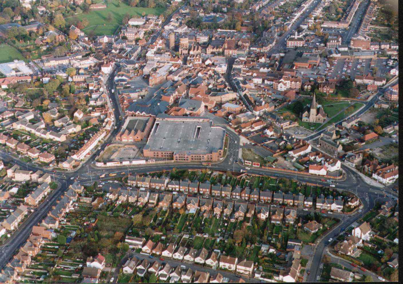 BRAINTREE town centre (overview)